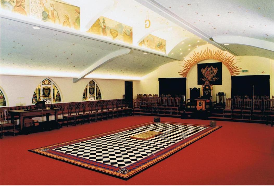 Lodge of King Solomon's Temple lodge room, Christleton, today